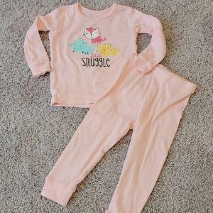 🐱Gerber Let's Snuggle Kitty Cat Pajamas
